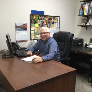 Roy Abriani, retail sales manager